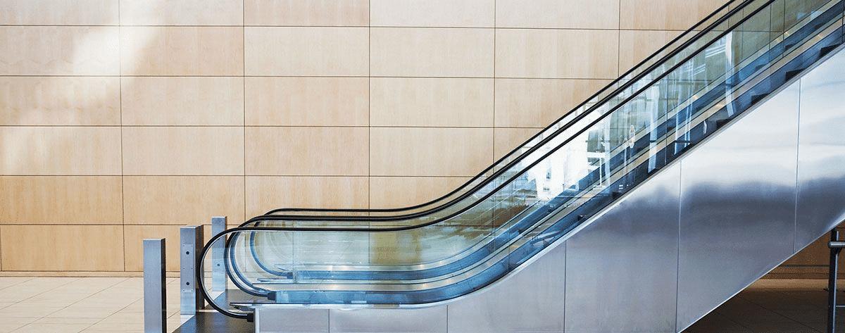 стильный эскалатор