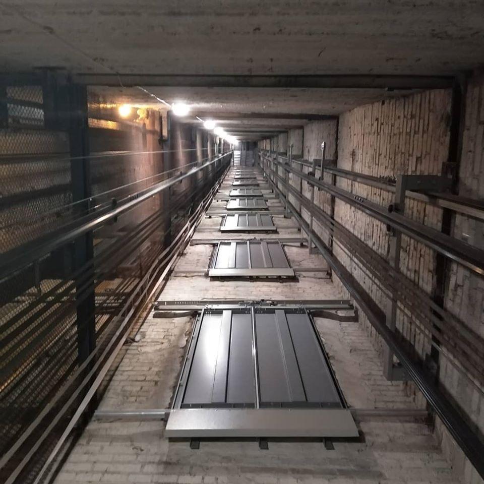 Монтаж лифтов груз